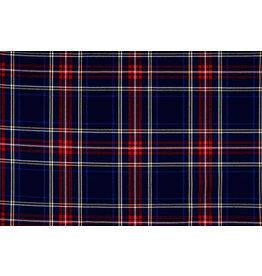 Scottish checks stretch 3 Navy