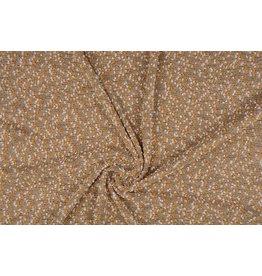 Bouclé Embroidered Dark gold