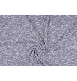 Bouclé Embroidered Grey
