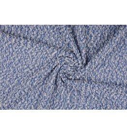 Snow knit Blau