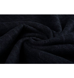 Lace Wool Blocco Black