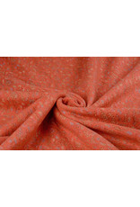Lace Wolle Multi Bloemetjes Orange