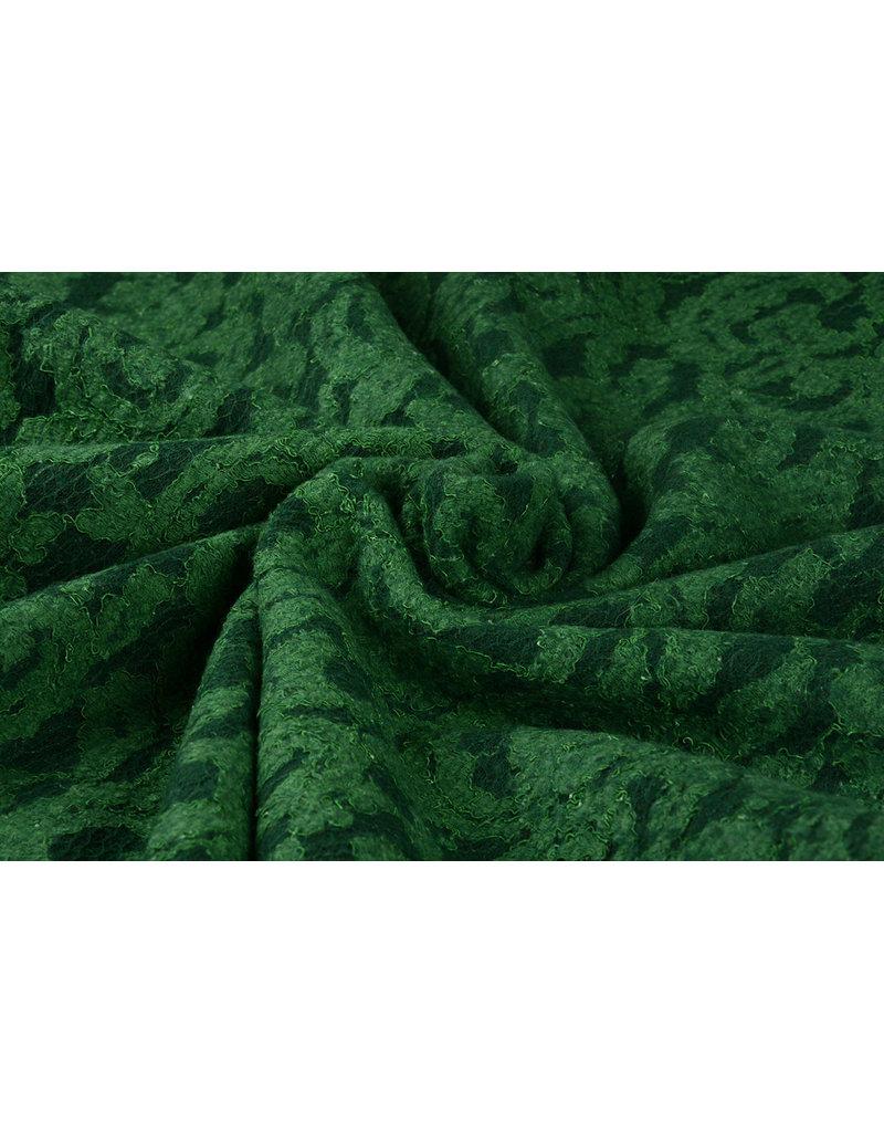 Lace Wolle Ricciolo Grün