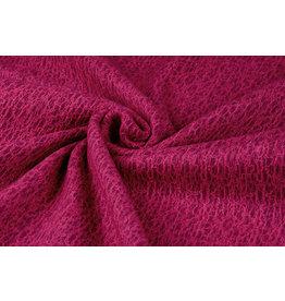 Lace Wool Filetto Fuchsia