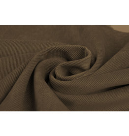 Rib Fabric Corduroy Brown