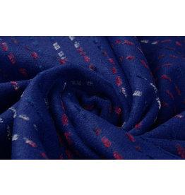 Wollook Mexicano Kobalt Blau