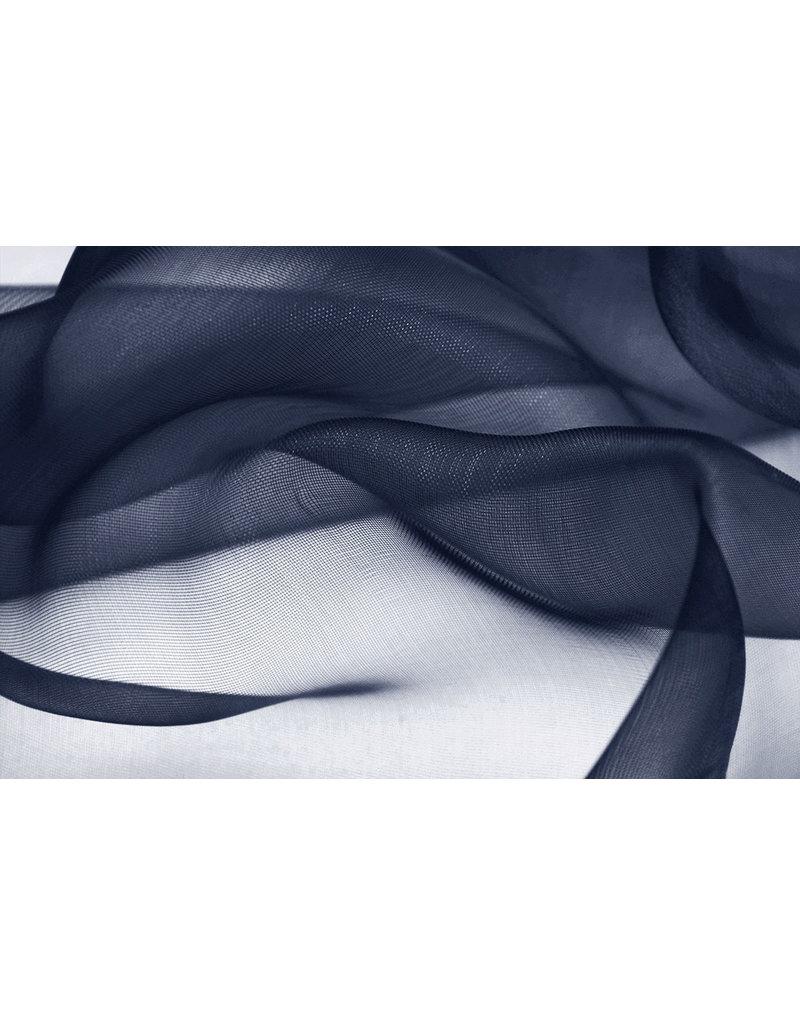 Organza Marineblau