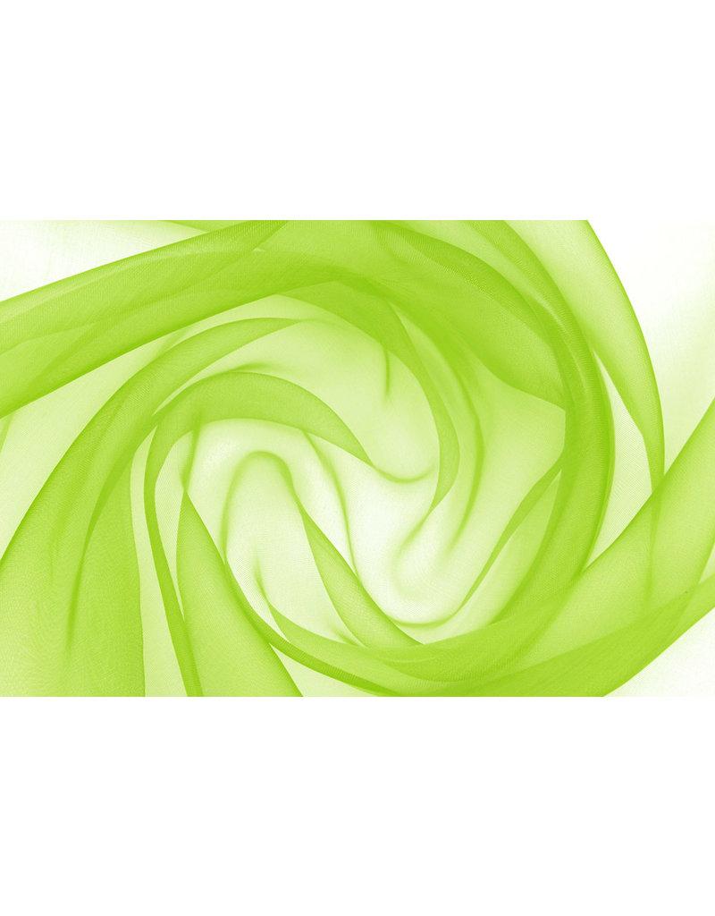 Organza Limettengrün