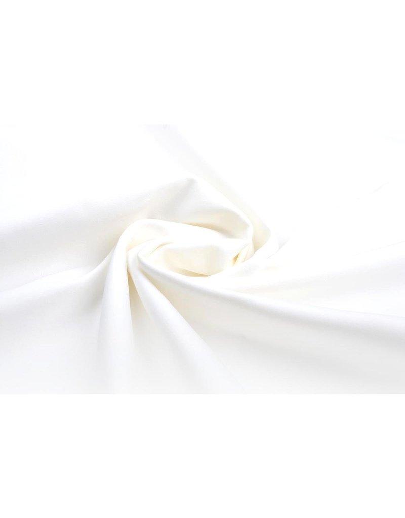 Coarse stretch Cotton Unbleached Off White