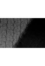 Melange Gestrickte Kabel Stoff tricot Grau