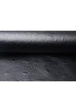 Jersey Lak Gestanst mat Mat zwart 2