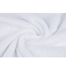 Wellness-Fleece Weiß