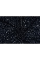Finely Woven Suite fabric with Sequins Silver