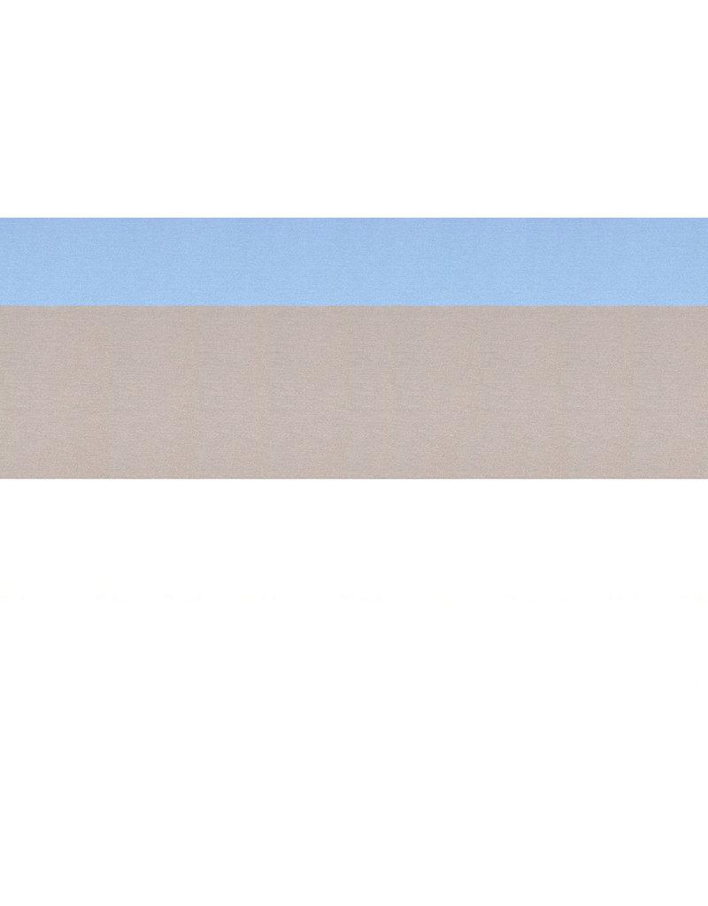 Punta Di Roma Striped Blue Taupe