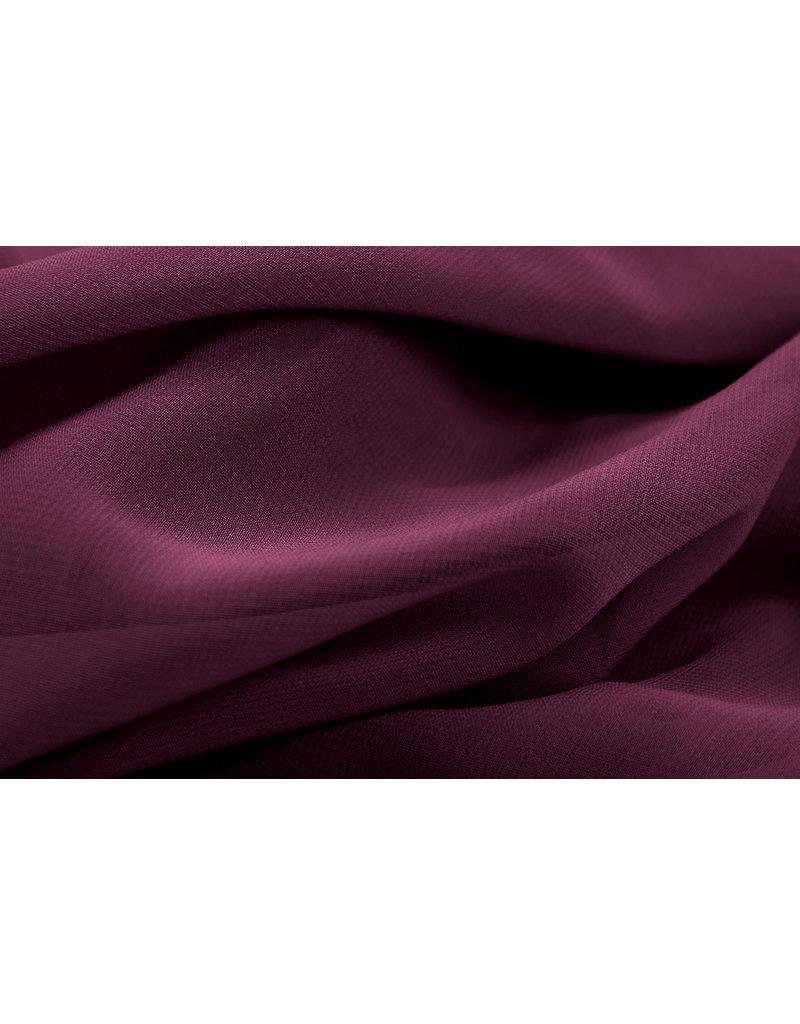 Hi Multi Chiffon Dark Bordeaux