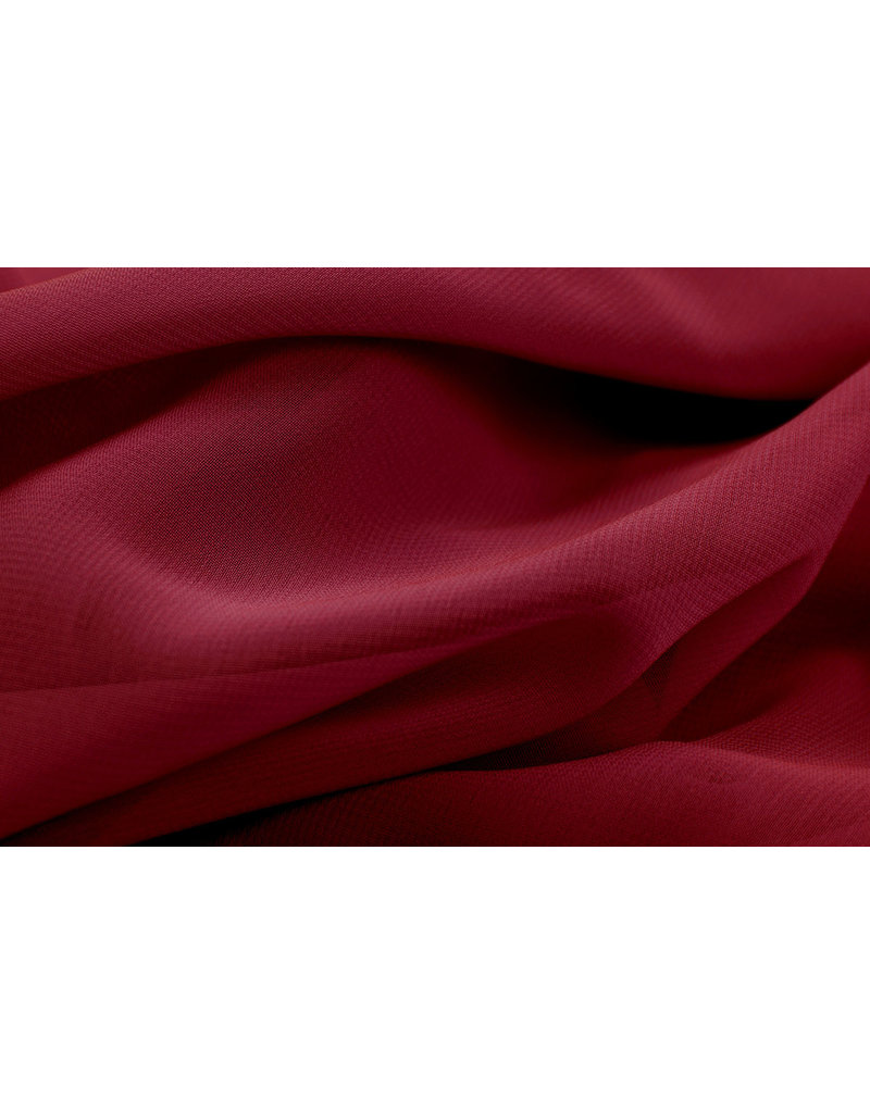 Hi Multi Chiffon Wine Red