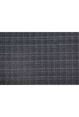 Knitted Checkered Berlia Dark Gray
