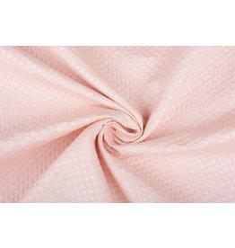 Lurex Emboss Pastel Pink