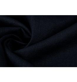 Gewaschenes Leinen Marineblau