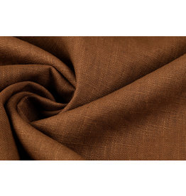 Washed Linen Orange Brique
