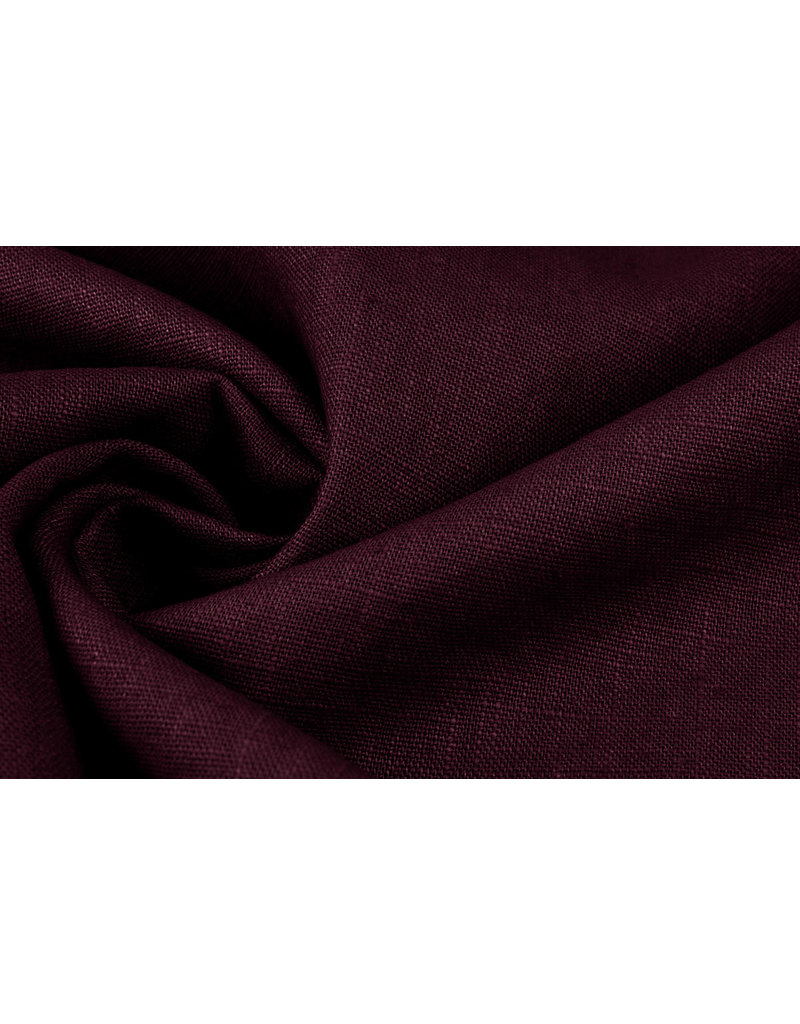 Washed Linen Bordeaux