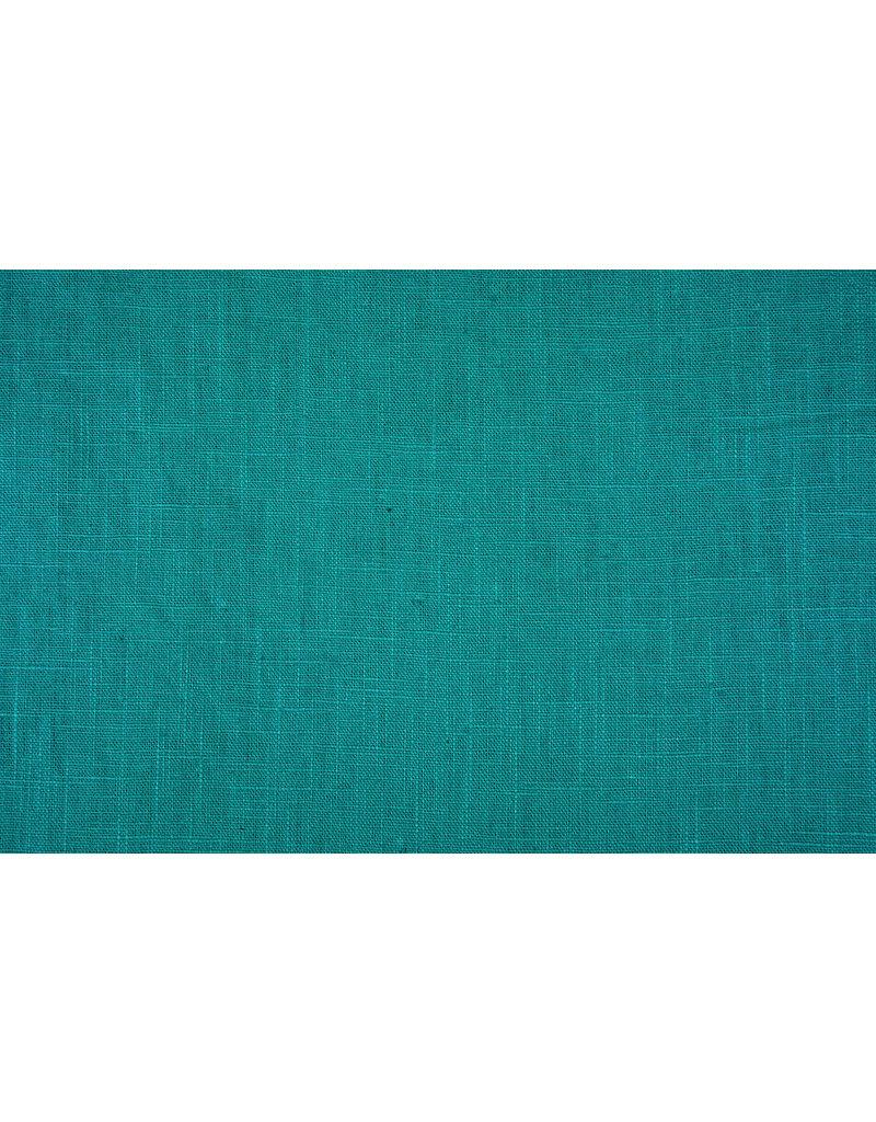 Gewaschenes Leinen Meergrün