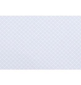 Baumwoll-Stretch Diamant Taimana Grau Blau