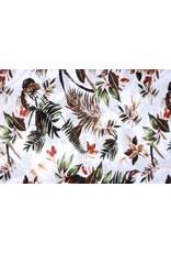 Tricot Botanic Jungle Wit