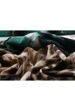 Panel Lycra Crepe  Trico Pantherdruck Auge Ido