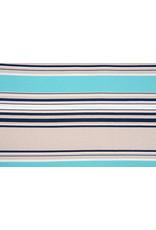 Viscose Jersey Stripes Sea Green