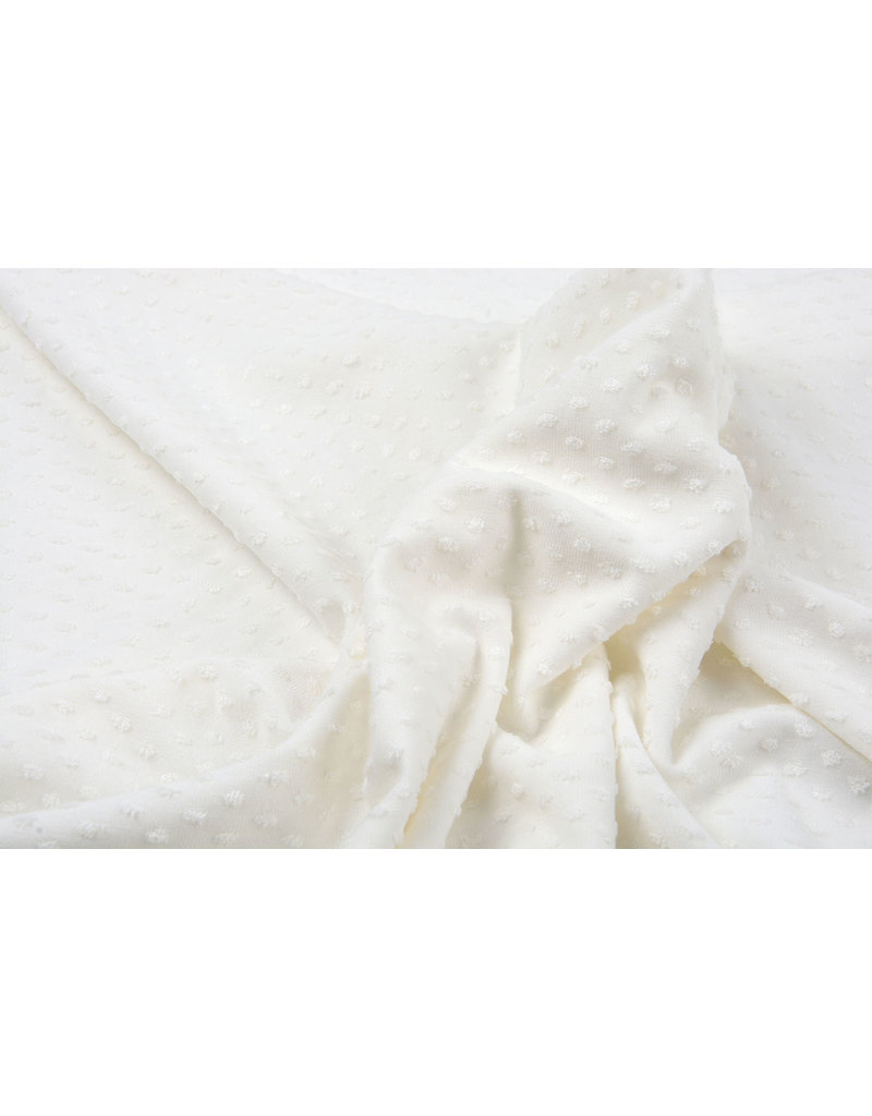 Tricot Minky Creme