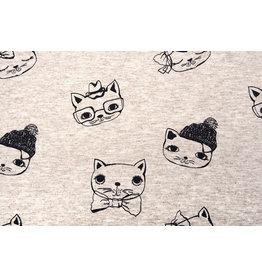 Mi & Joe Cotton Jersey Cat Beige melange