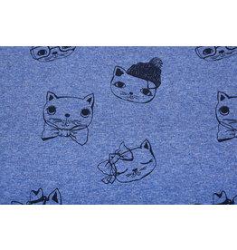 Mi & Joe Cotton Jersey Cat Dark jeans melange