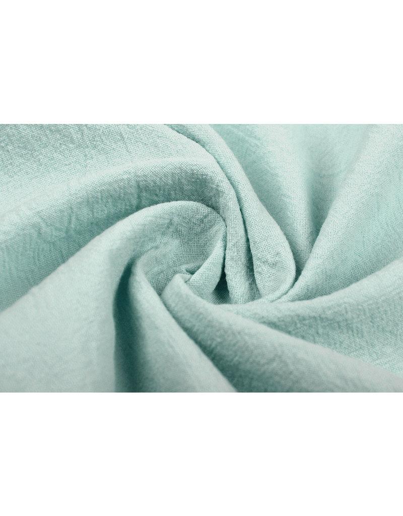 100% Gewaschene Baumwolle Helles altes Grün