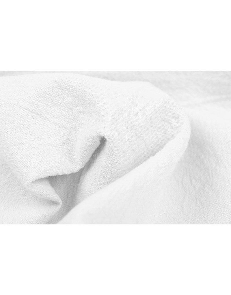 100% Gewaschene Baumwolle Weiß
