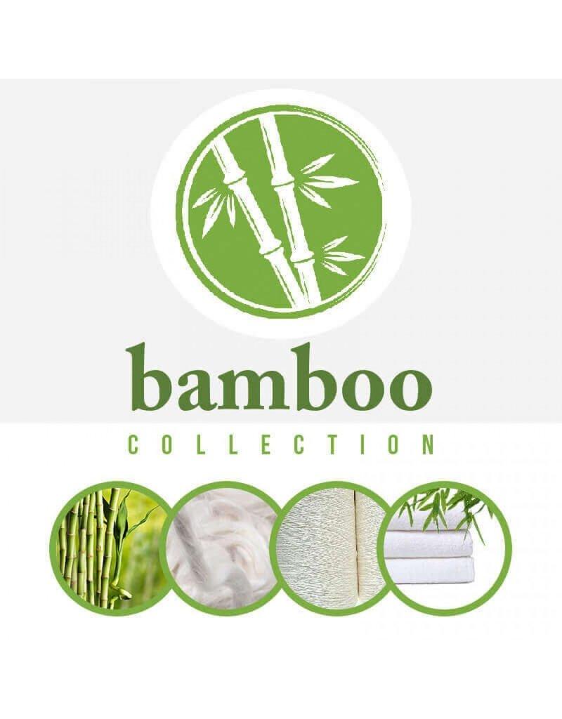 Oeko-Tex®  Bamboe Badstof Wit