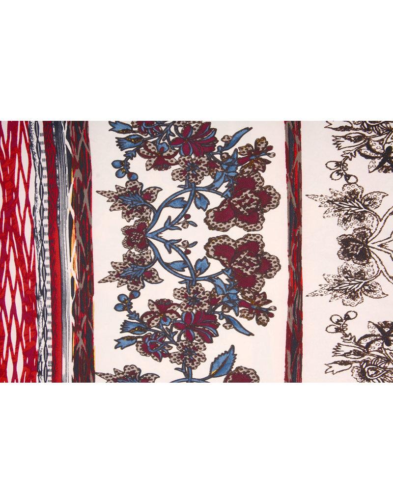 Cotton Jersey  Simmer Blumen Ziedi