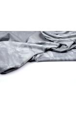 Viscose jersey Tie Dye Grau