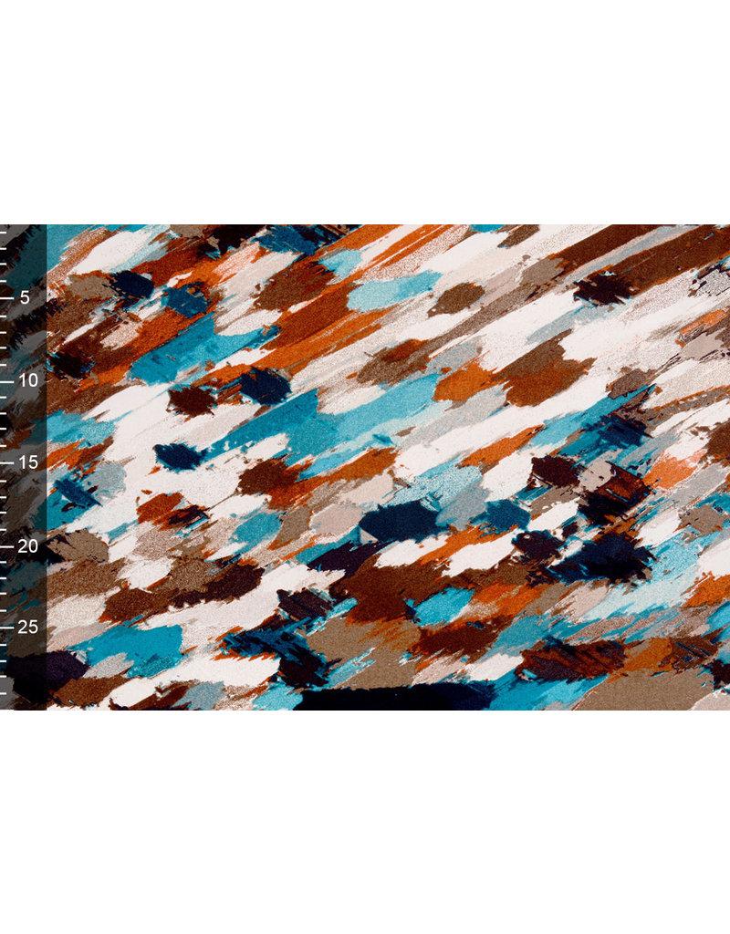 Cotton Jersey  Simmer Abstraktes Multi