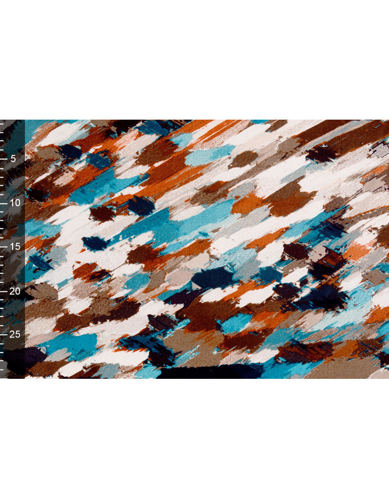 Tricot Simmer Abstract multi