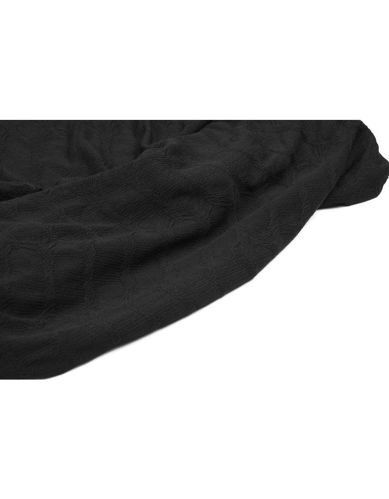 Cotton Jersey Krina Black