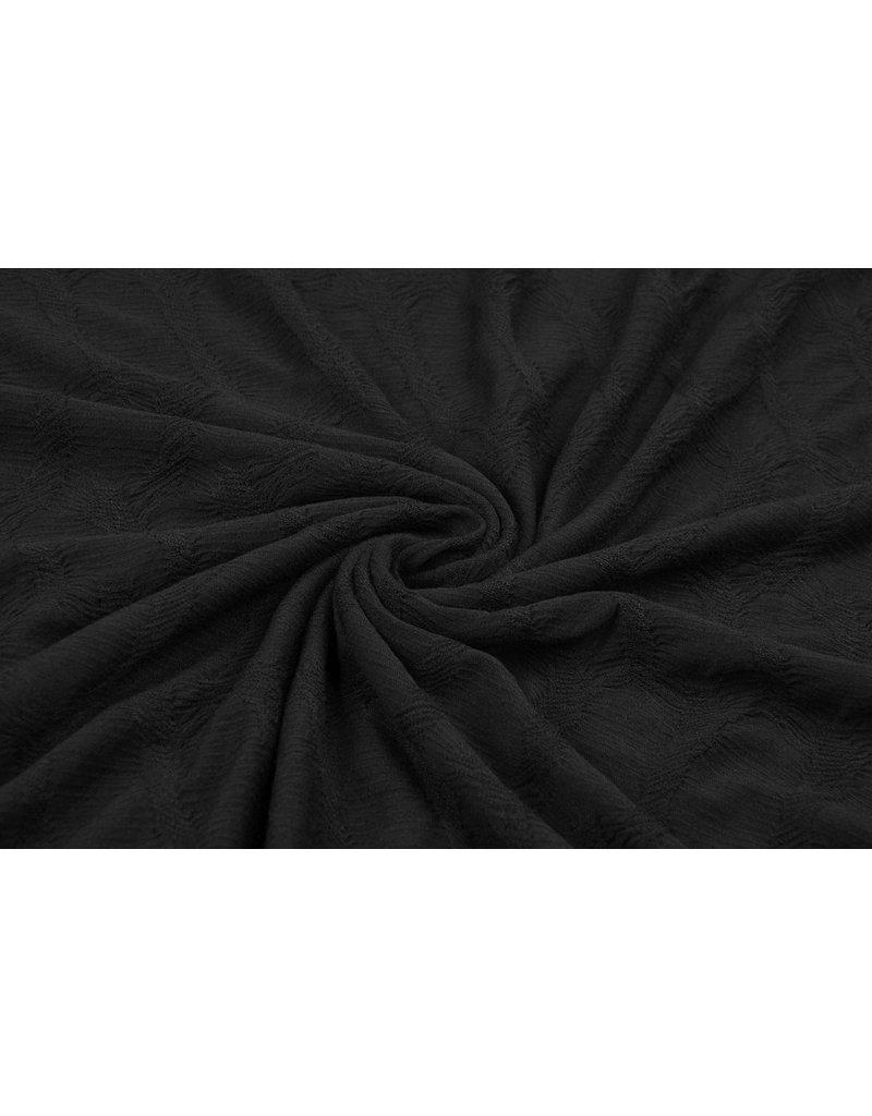 Cotton Jersey Krina Zwart