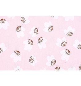 100% Washed Cotton Lamba Light Pink