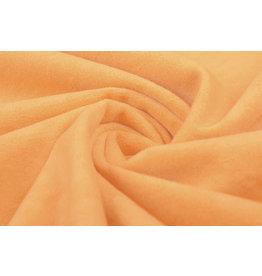 Velours Fluweel Stof Pastel Oranje