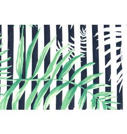 Viscose Strepen Palm