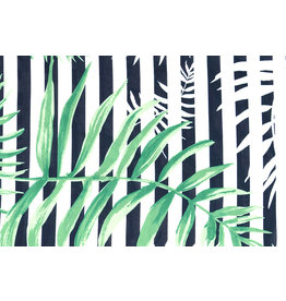 Viscose Stripes Palm