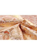 Brokaat Orian Goud Oranje