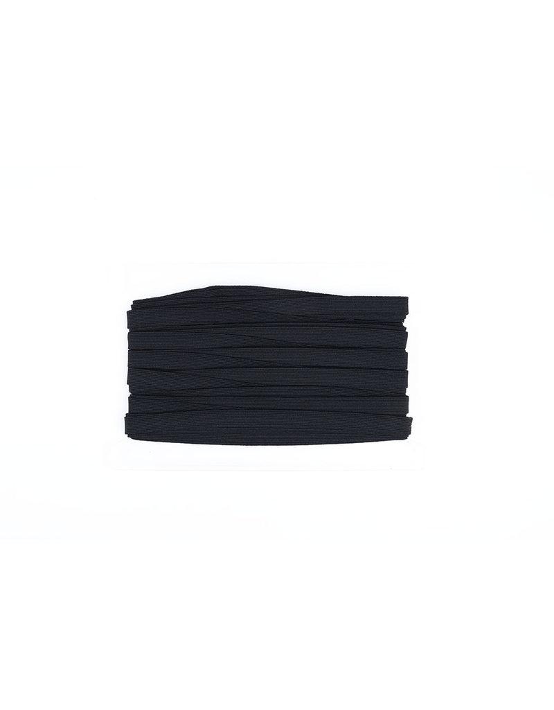Band elastiek Zwart 15 mm