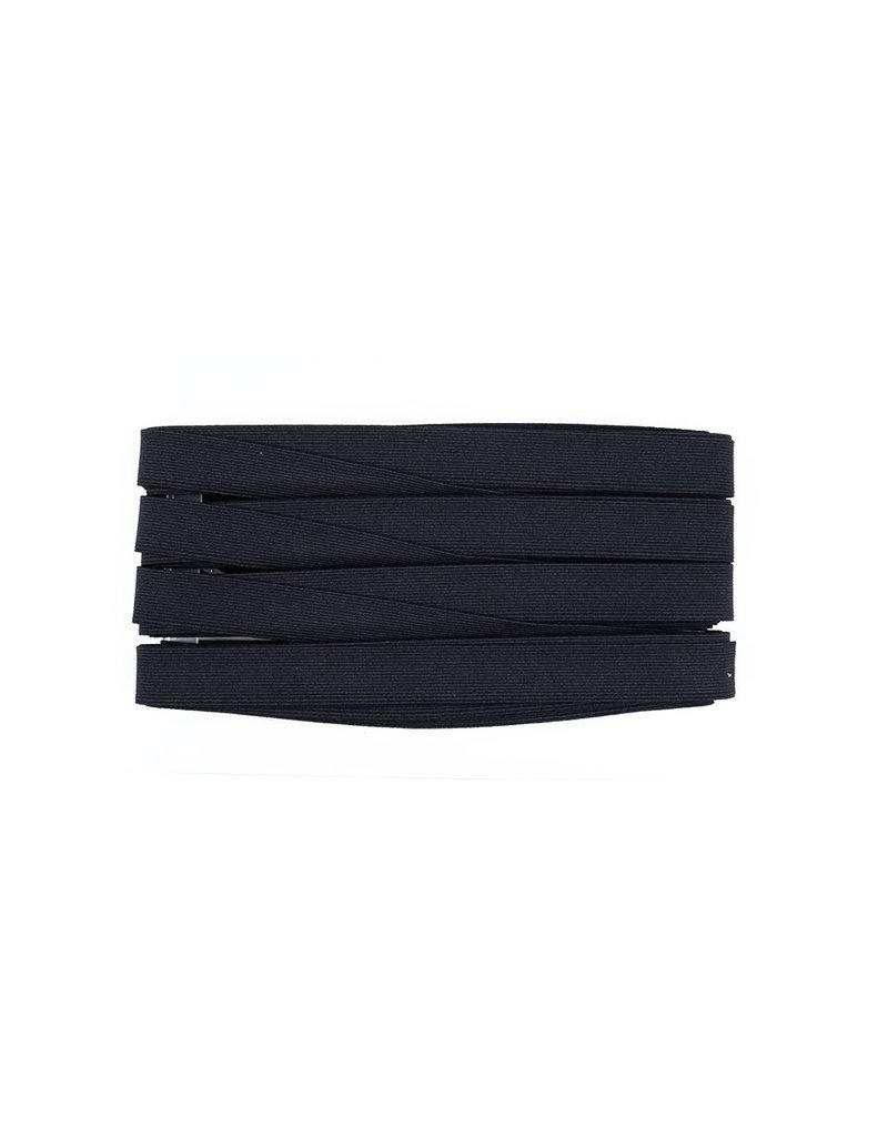 Band elastiek Zwart 25 mm