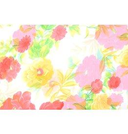 Yoryu Chiffon Printed Spring Flowery